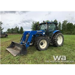 2014 NEW HOLLAND T6.160  MFD TRACTOR