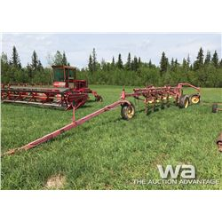 HORWOOD BAGSHAW 6 WHEEL ROOT RAKE