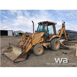 CASE 580K BACKHOE LOADER