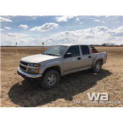 2006 CHEV COLORADO C/C P/U
