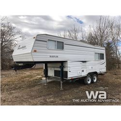 2001 RUSTLER LITE RW220 5TH WHEEL TRAVEL TRAILER