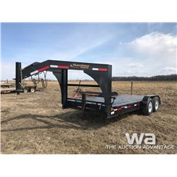 2017 RAINBOW 7X16 FT. 5TH WHEEL T/A TRAILER