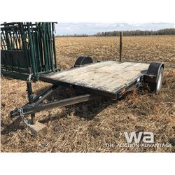 XPRESS 10 FT. S/A FLATDECK TRAILER