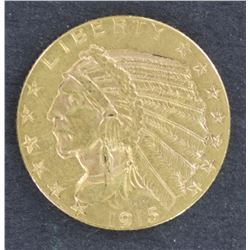 USA $5 indian Head Gold