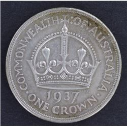 1937 Crowns Very Fine or better (5)