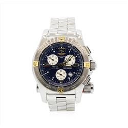 Breitling Stainless Steel Emergency Mission Mens Wristwatch