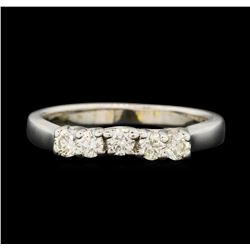 14KT White Gold 0.40ctw Diamond Ring
