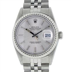 Rolex Stainless Steel DateJust Men's Mens Wristwatch