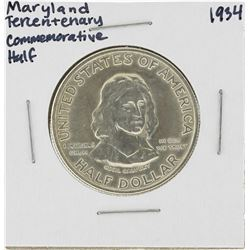 1934 Maryland Tercentenary Commemorative Half Dollar Coin
