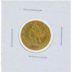 1888-S $5 Liberty Head Half Eagle Gold Coin