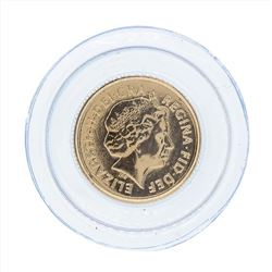 2009 Great Britain 1/4 Sovereign Gold Proof Coin