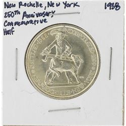 1938 New Rochelle New York 250th Anniversary Commemorative Half Dollar