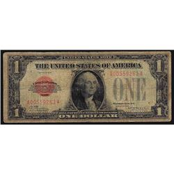 1928 $1 Red Seal Legal Tender Note