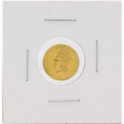 1859 $1 Indian Princess Head Gold Coin Solder