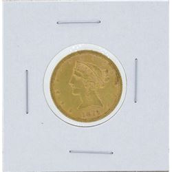 1879 $5 Liberty Head Half Eagle Gold Coin