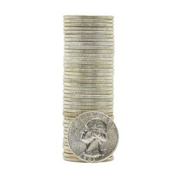 Roll of (40) 1961 Brilliant Uncirculated Washington Quarters