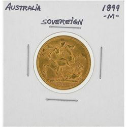 1899-M Australia Sovereign Gold Coin