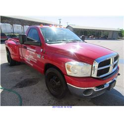 2007 DODGE RAM 3500 (EDINBURG) $14,500