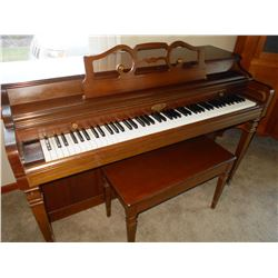 Wurlitzer Spinet Piano and Bench