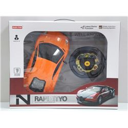 Radio Control Race Car with Vibrating Steering Whe
