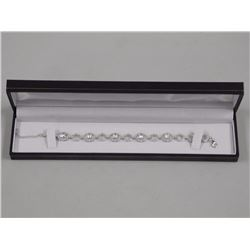 Ladies 925 Sterling fancy Bracelet with over 16.00