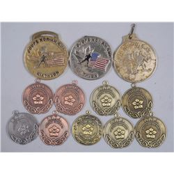 12x Assorted Medals - 'Vancouver' Area (ATTN: 12 T