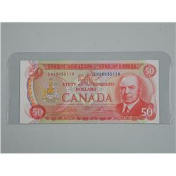 Bank of Canada - Fifty Dollar H/X Replacement, EF/