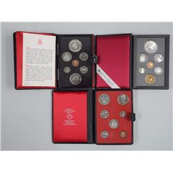 3x Canada Double Dollar Proof Mint Coin sets (ATTN