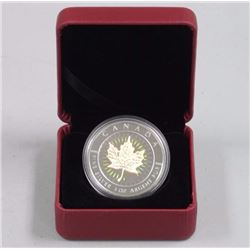 2001 - 9999 Fine Silver Maple Leaf Hologram Coin $