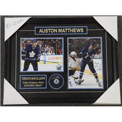 Auston Matthews - First Pick Collector Frame with