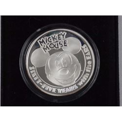 Mickey Mouse (1928-1993) 65th Anniversary Silver C