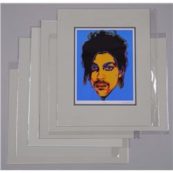 6x Andy Warhol - Lithos. includes - Prince - John.