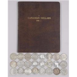 24x Canada Silver Dollars - Mix of Dates and Stora