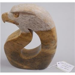 Original Stone Carving - by LeRoy Henry 'EAGLE' Si