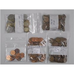Estate Lot USA 1 Cent Coins. Approx 800pc