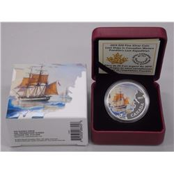 RCM Issue: Fine Silver Lost Ships Franklin's Last