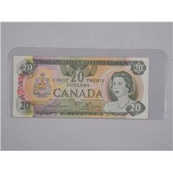 Bank of Canada Twenty Dollar Note. 510 Replacement
