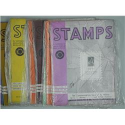 Lot of Weekly Stamp Publications (1939-1940, 1948,