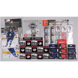 NHL - Hockey Memorabilia and Coins Includes all 7
