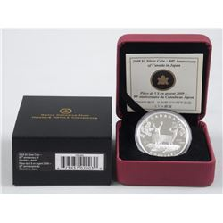 2009 - RCM $3.00 Silver Coin - 80th Anniversary of