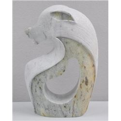 First Nations Artist - BUD HENRY Stone Sculpture -