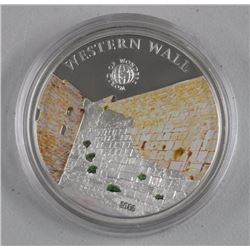 $5.00 Proof Sterling Silver WESTERN WALL Coin Mint