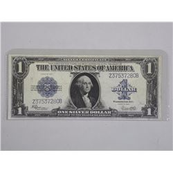 USA Large Format One Dollar note. Silver Certifica