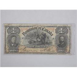 Dominion of Canada - One Dollar Note. March 1898