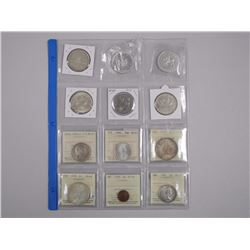 12x Collector Coins - Includes Mix of 6x ICCS - MS