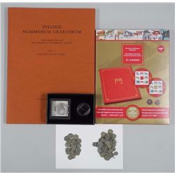 Ancient Coins and Books - Large Reference Book. Ap