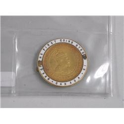 1908 Canada Large Cent Enameled Enameled coin pin,
