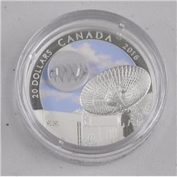 RCM Issue: 2016 $20 Fine Silver Coin - The Univers