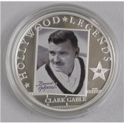 'Hollywood' Legends 'Clark Gable'' 925 Sterling Si