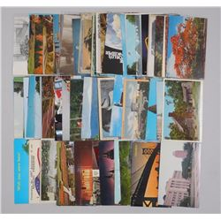 Lot of Approx 40 Vintage Postcards